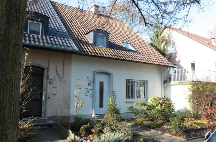 Frankfurt  -Sachsenhausen – Projektentwicklung einer Doppelhaushälfte